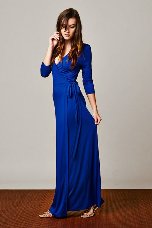 Jenna Dress in Elan Blue