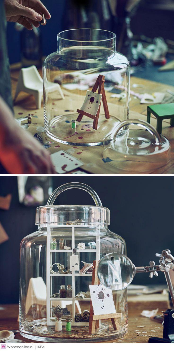 IKEA HEMSMAK - Liefde in een potje Er gaat niets boven een zelfgemaakt cadeau. Met de HEMSMAK collectie tover je huisgemaakte lekkernijen in een handomdraai om tot een origineel geschenk. Het is heel simpel: doe jouw traktatie in een voorraadpot, maak het af met feestelijk lint en een label en voilà: liefde in een potje.