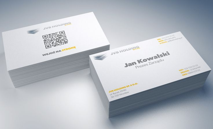 JVB Holding Business Cards