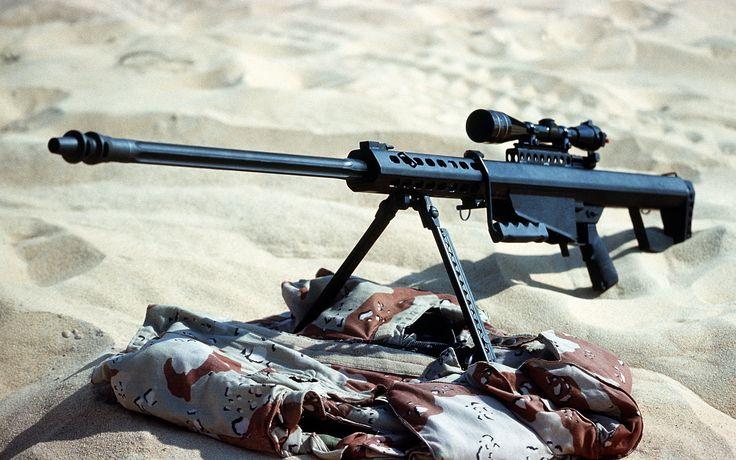 Armas Barrett M82 Sniper Rifle  Papel de Parede