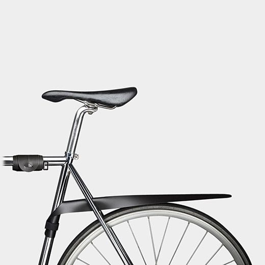 Musguard Rollable Bike Fender - clever way to get get the thing out of the way when you don't need it.  Lighter than regular fenders too.