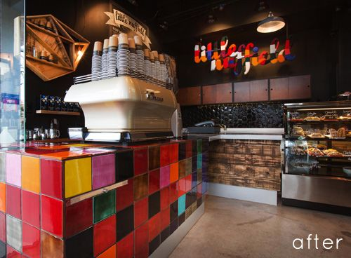 Little nuffield cafe is a coffee bar and lunchbox shop