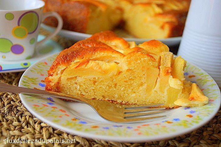 Gâteau pomme mascarpone