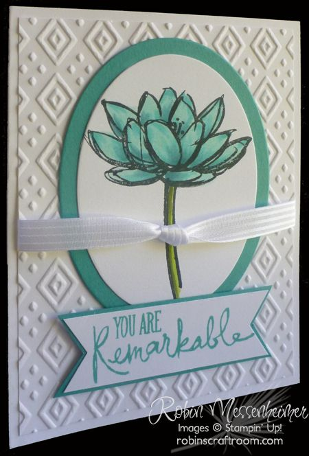RemarkableFlower - SU - Remarkable You stamp set