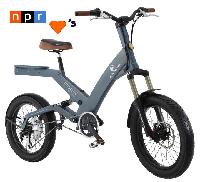 all electric motorcycle | NPR's 'All Things Considered' Features Electric Bikes