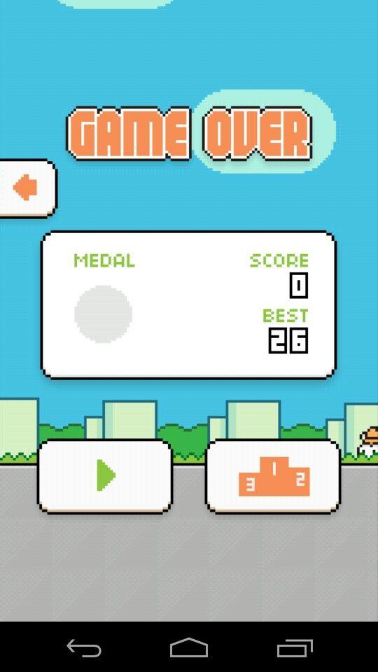 My second high score