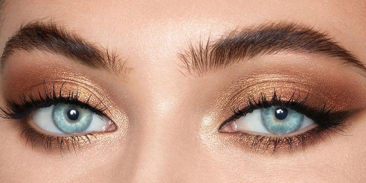 Charlotte Tilbury Eyes to Mesmerize | Eyeshadow for blue eyes, Blue eyes  pop, Blue eye color