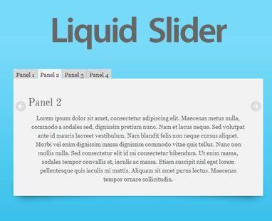 Liquid Slider – Responsive, HTML5 jQuery Content Slider