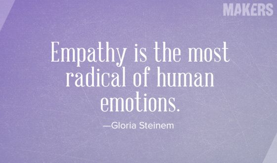 empathy...so few have it to give, and so many need it. give it, and surround yourself with those who also have it, and watch how it can transform suffering.