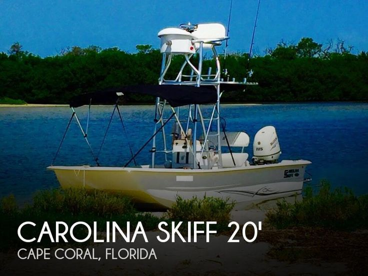 Used 2015 Carolina Skiff 2180 DLX for sale in Cape Coral, Florida