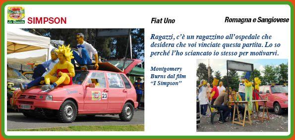 _I SIMPSON http://rallydeglieroilarivincita.blogspot.it/p/catalogo-degli-eroi.html #LaRivincita #RallydegliEroi @RobertoCattone
