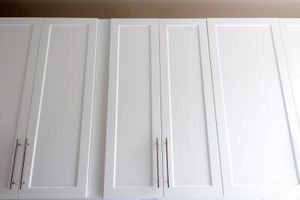 How to Update Kitchen Cabinets With Molding thumbnail