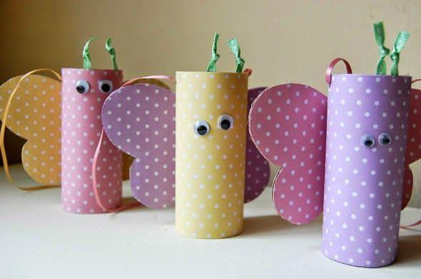 Cajitas para souvenir en forma de mariposas DIY | Aprender manualidades es facilisimo.com