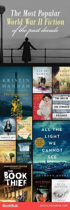 The most popular World War II books of the past decade. If you haven't read these WWII historical fiction books, you should!