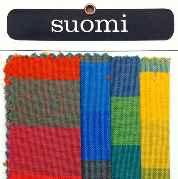 """""""Suomi"""" Textiles, Herman Miller, Made in Finland, 1969"""