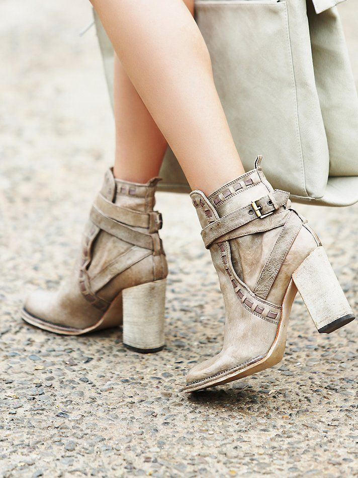 FP Collection Heirloom Heel Boot at Free People Clothing Boutique