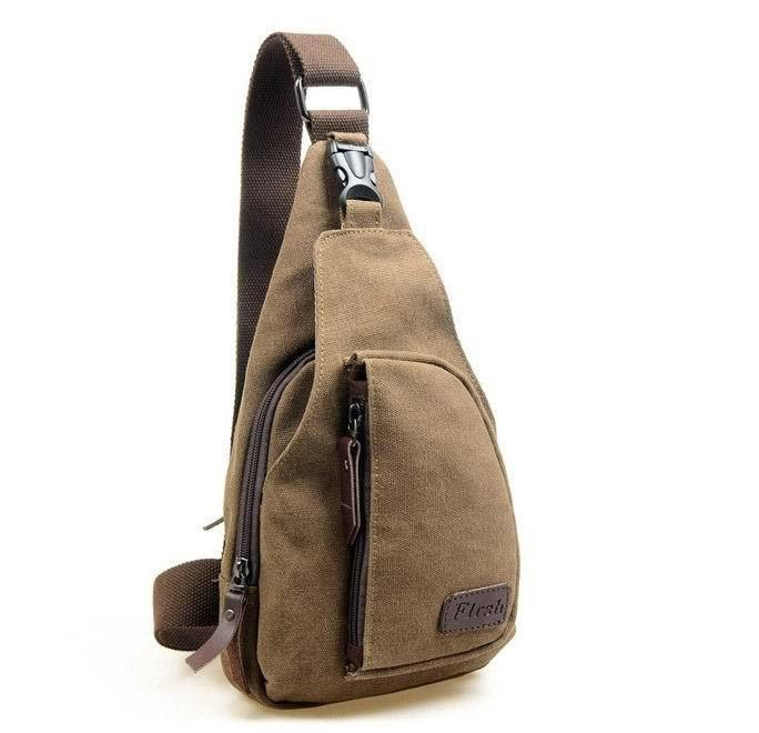 Mens Sling Backpacks Defy Fashion Norms at  CasualMen.co Online Store