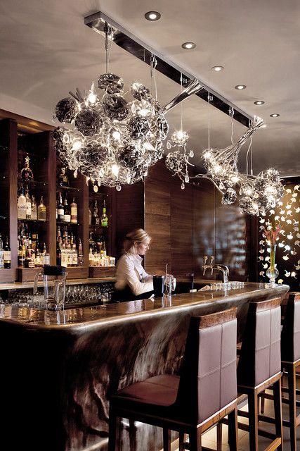 The Okura Hotel in Amsterdam, the Netherlands showcases the LOVE YOU LOVE YOU NOT collection by Brand van Egmond. Interior design architct Bert Verweij