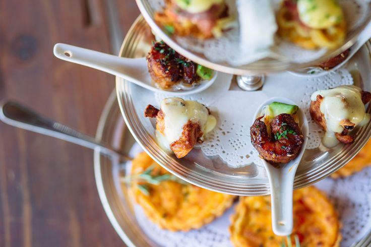 Delicious Savoury snacks from the Rosemary Hill 2016 Summer High Tea menu