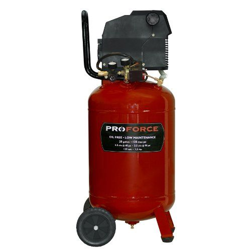 ProForce VLF1582019 20Gallon Oil Free Vertical Air Compressor with Kit ** You can get additional details at the image link.