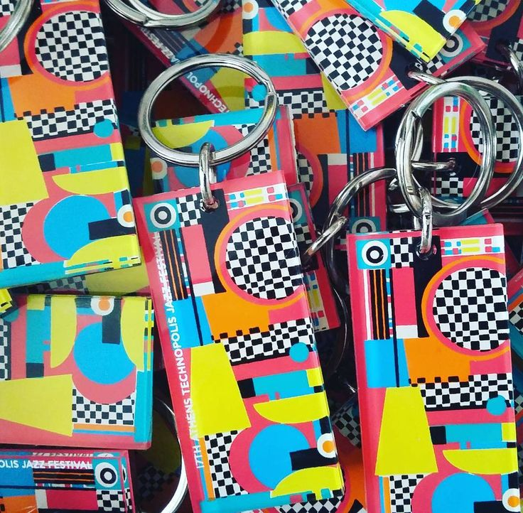 #custom #plexiglass #keyrings #keychains #official #merchandize for @technopolis_athens #athens #jazz #festival #design by @beetrootdesign #plexiglas #screenprint #screenprinting #silkscreen #handprint #printing #lazercut #plexiartshop #madeingreece #insta #picoftheday