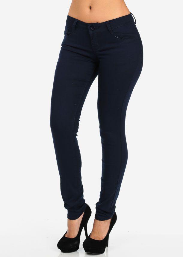 Navy Skinny Jeans, Fashion House Guatemala