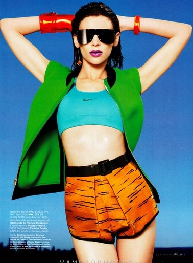 "Simon Robins styles ""Training Day"" in Elle, June 2012"