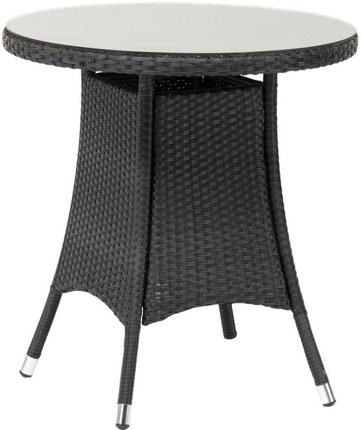 buy royal craft cannes 3 piece bistro set ebony black at. Black Bedroom Furniture Sets. Home Design Ideas