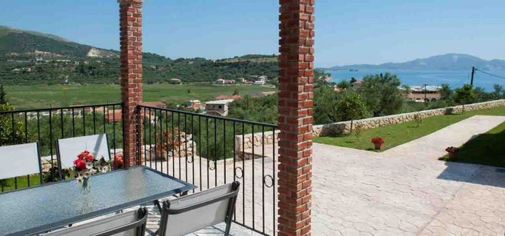 Fiore Levante Villas | Keri This accommodation offers a panoramic view of the blue sea.