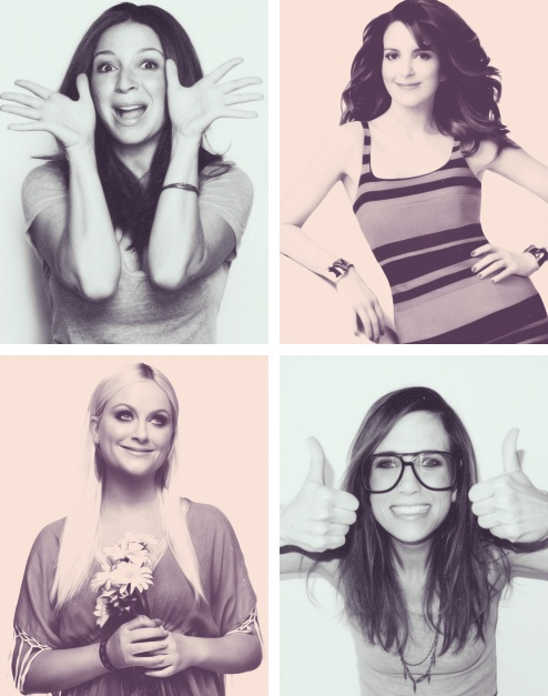 Tina Fey alll the way. But they're all pretty damn amazing women!