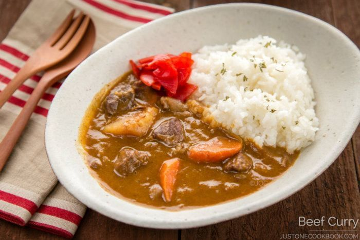 Japanese Beef Curry ビーフカレー Just One Cookbook Recipe Beef Curry Recipe Beef Curry Curry Recipes