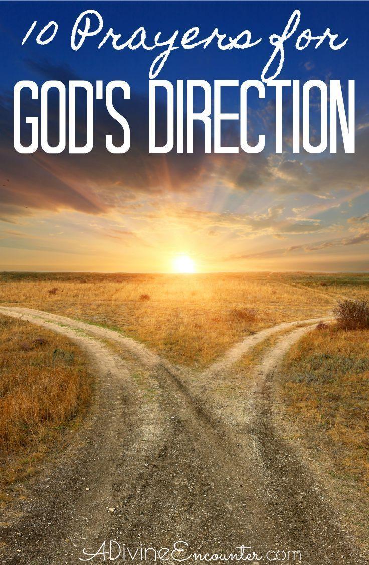 Prayer For Gods Direction Using Scripture For Guidance Christian