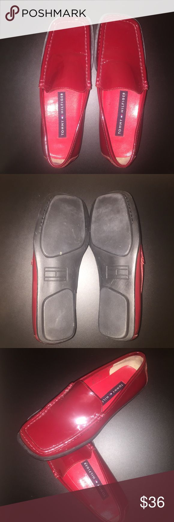 Women's orginal Tommy Hilfiger Only worn once, excellent condition, cute and shiny, great to dress up a lot of different outfits, no scratches or stains, original Tommy Hilfiger, comes from a smoke/ pet free home, fast shipping Tommy Hilfiger Shoes Platforms