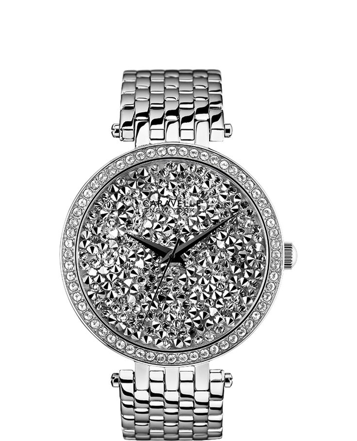 GORGEOUS! WHEW! Silver Caravelle Watch $120