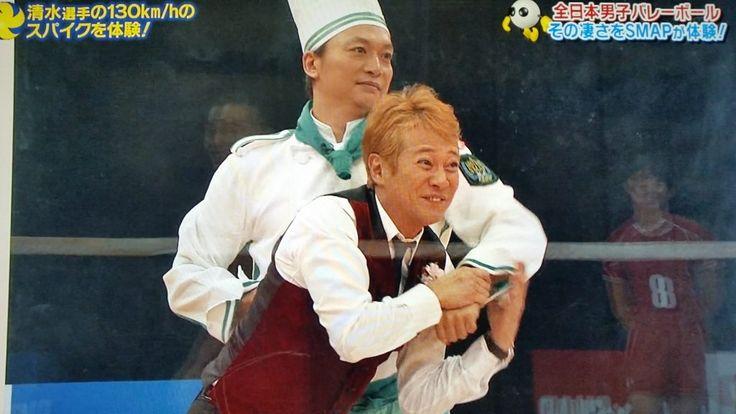 スマスマ5月9日バレーボール全日本男子25