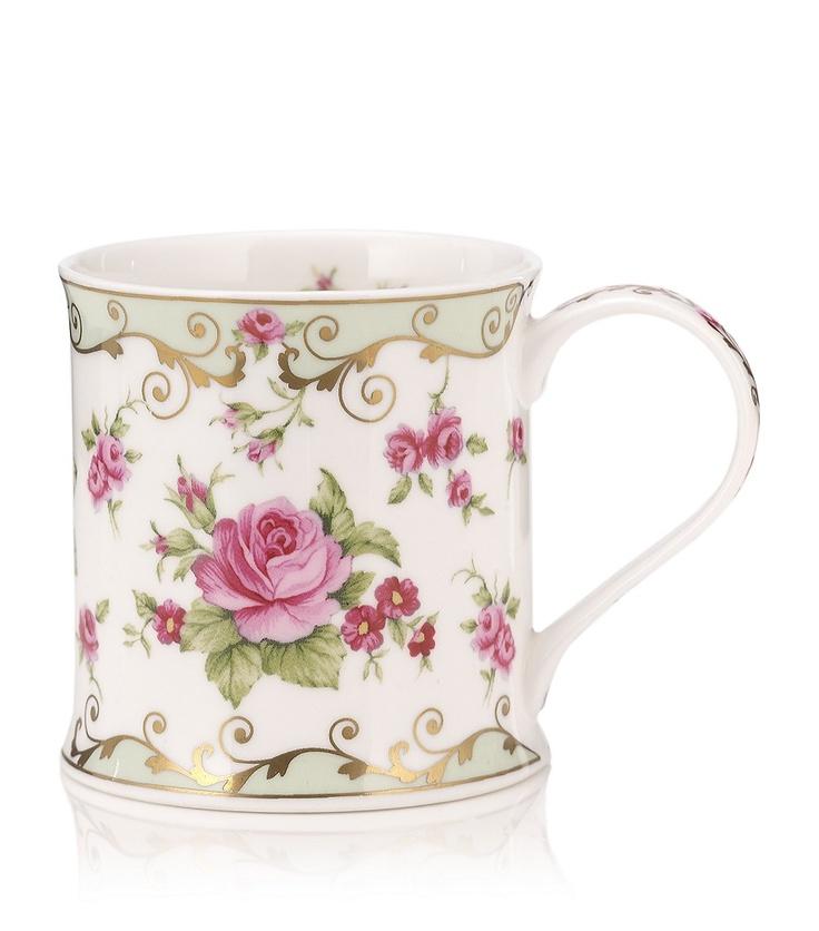 DUNOON  Wessex Rose Mug £10.95