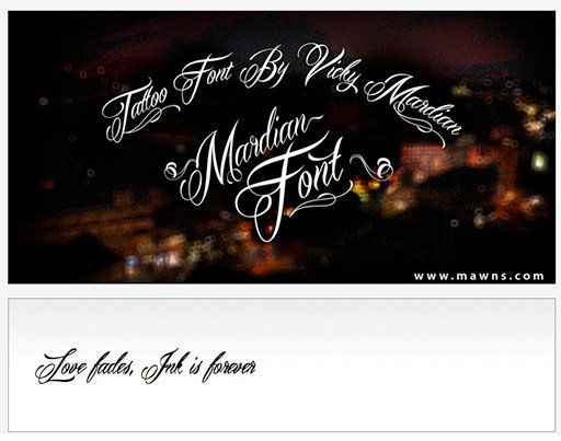 10 best tattoo fonts: typefaces that give your letters a hand-inked feel - News - Digital Arts