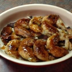 Caramelized Frog Legs Allrecipes.com  The pic I added to Allrecipes.com - Made these last weekend. Need to make some more soon!