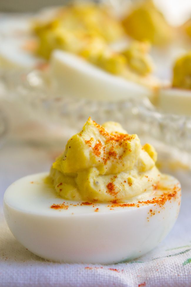 ... Classic Deviled Eggs on Pinterest | Deviled Eggs, Egg Recipes and Eggs