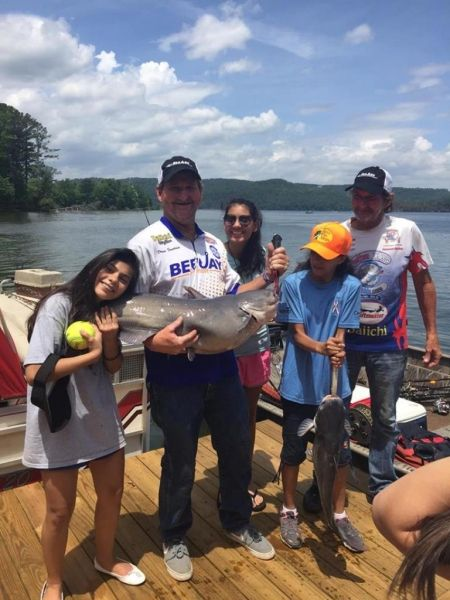 USSAs angler lands big catfish!