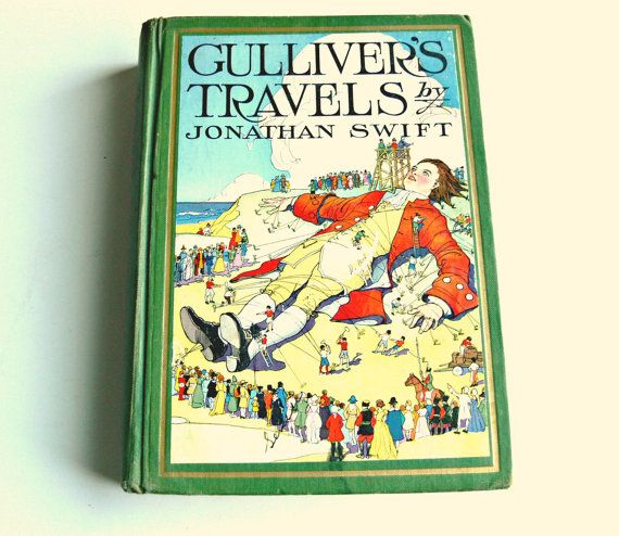 """1930 edition of """"Gulliver's Travels"""" by Jonathan Swift ..."""