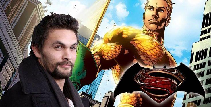 Jason Momoa Cast As Aquaman in Batman VS Superman and Justice League ~ THE SONIC SABER