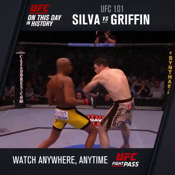 8 years ago today Anderson Silva entered the Matrix and put on one of the most spectacular performances in MMA history