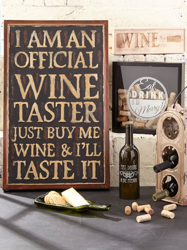 Wine on the Mind! Discover hundreds of wall signs added daily at prices up to 70% off! Re-define your space with the perfect words. Now is the time to refresh your home!