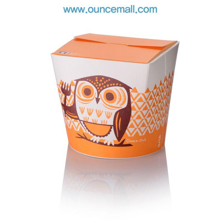 ounce - owl  / 900cc food package www.ouncemall.com