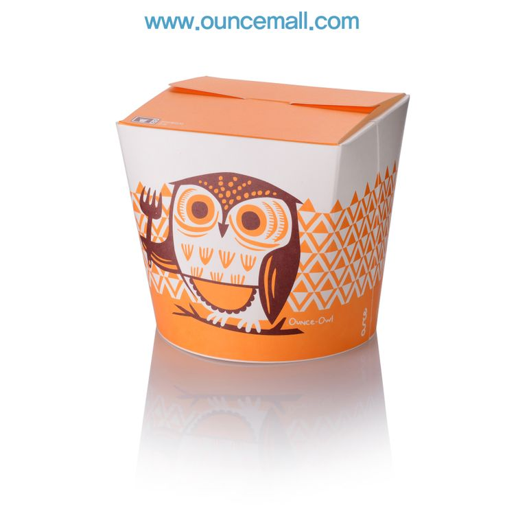 ounce - owl  / 900cc food package www.ouncemall.com
