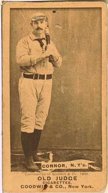 An 18-year veteran, Roger Connor's career batting average was .316 and he slugged a nineteenth century record 138 home runs. Connor also led the League in fielding percentage for first basemen 4 times. He is a member of Cooperstown.