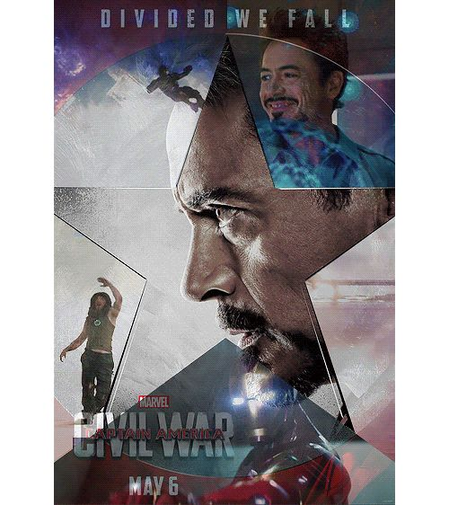 1 of 5 - Source: franklcastle on tumblr. Captain America: Civil War character posters: #TeamIronMan - Tony 'Iron Man' Stark. - Click through for the motion poster.