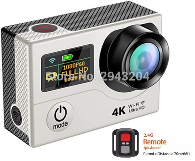 Cheap 4k action camera, Buy Quality sport camera directly from China action camera Suppliers: WIFI 4k Action Camera 170 degrees 2 inch screen selfie Sports Camera timelapse video camera 30m waterproof Remote DV Camera