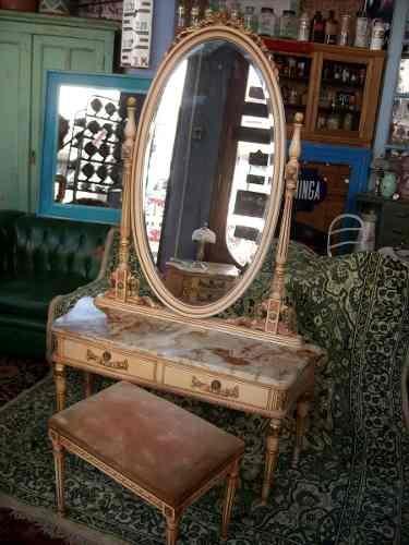 de vanidad, Decoración de habitación del maquillaje y Estudio de